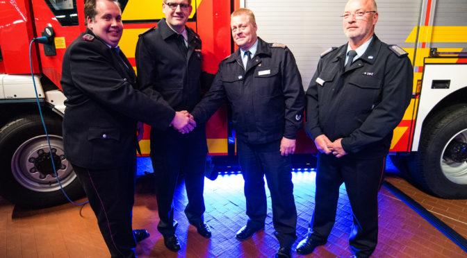 Neue Löschfahrzeuge und Verabschiedung des Stadtbrandmeisters und des Stadtjugendwartes der Hansestadt Uelzen